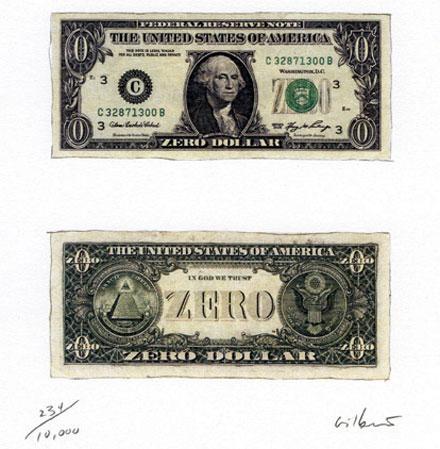 The zero dollar